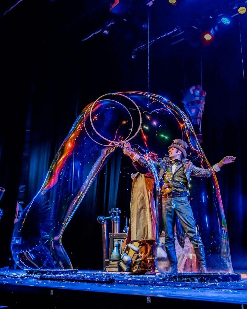 Шоу-спектакль «Мечты, меняющие мир»