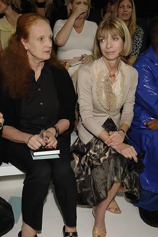 С Грейс Коддингтон - креативным директором Vogue