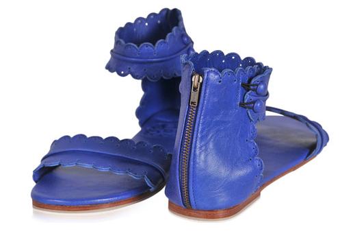 Идеальная сумка и обувь ручной работы. Сандалии Midsummer - кожаное кружево