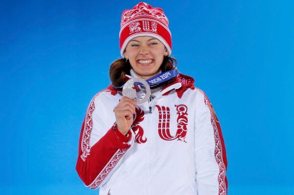 Биатлонистка Ольга Вилухина - дважды серебряный призер.