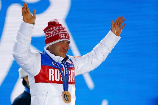 Биатлонист Евгений Гараничев завоевал бронзовую медаль.
