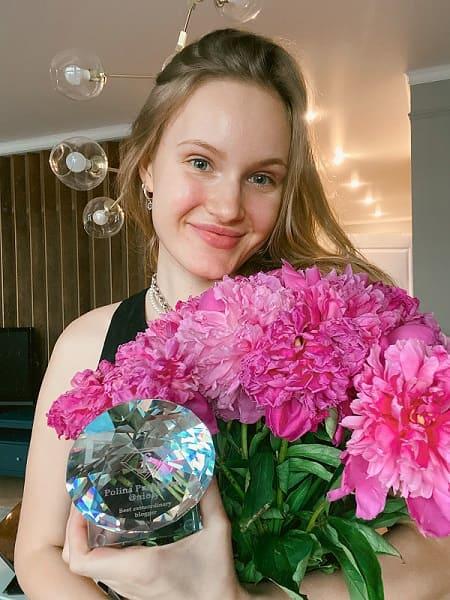 Полина Пушкарёва получила престижную награду от телеканала Fashion TV