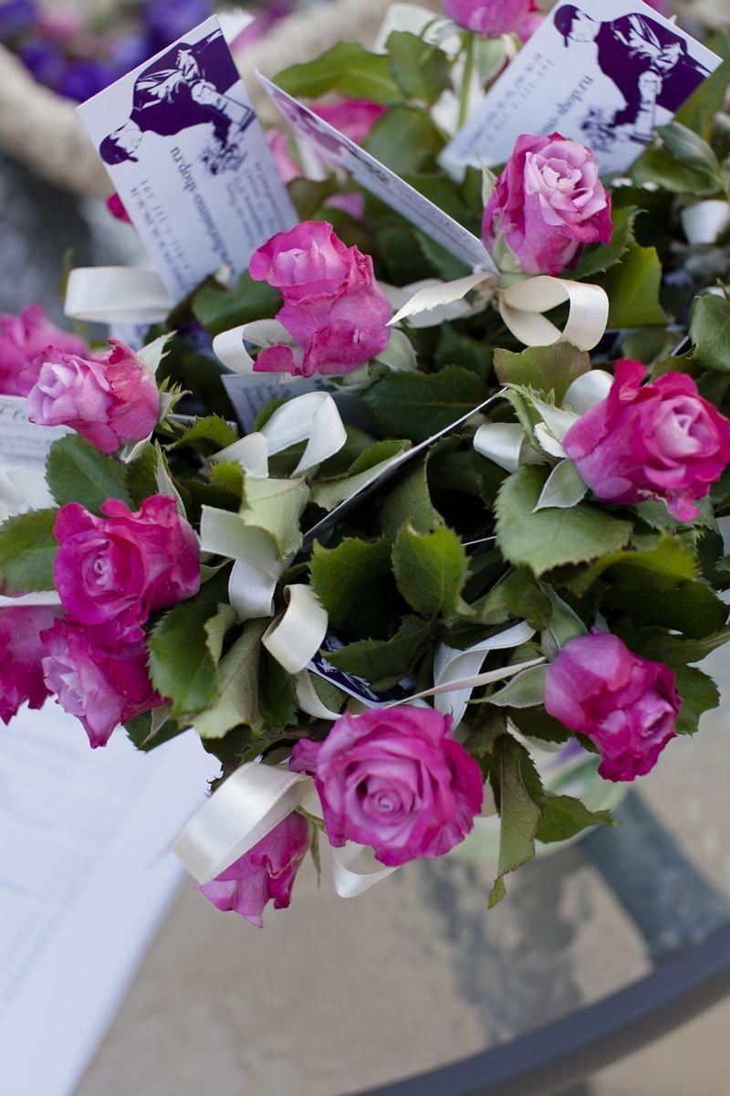 Флористическое оформление от салонов «Флориссимо»