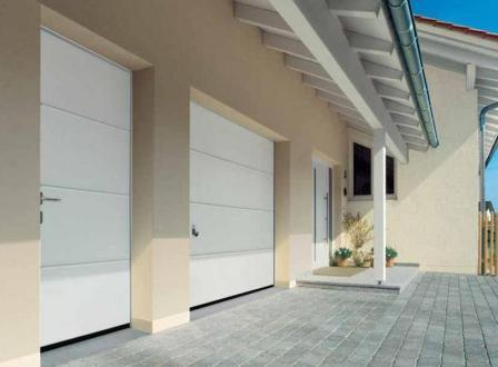 Секционные гаражные ворота Hormann