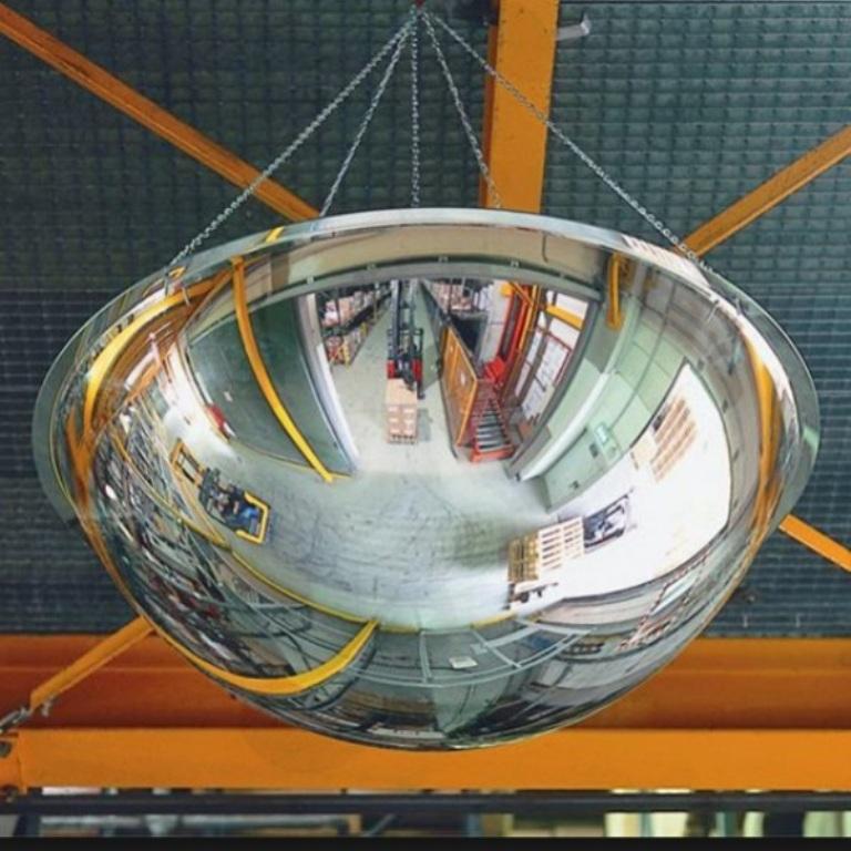 Зеркало купальное для склада