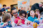 Больных малышей пригласили на благотворительный праздник «Пасхальная радость»