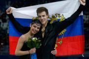 Елена Ильиных и Никита Кацалапов заняли третье место в танцах на льду.