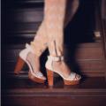 Идеальная сумка и обувь ручной работы. В цвете нюд