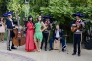 Светлана Гераськина, Екатерина Никитина и группа мексиканцев Los Panchos